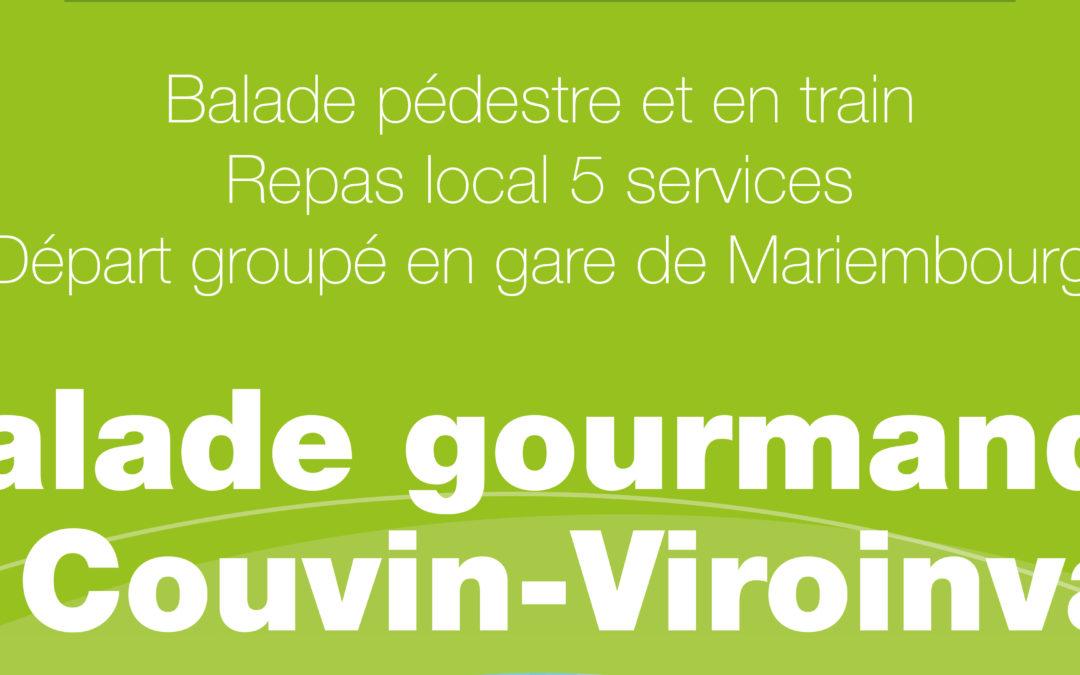 27 avril 2014 – Marche gourmande sur Couvin et Viroinval