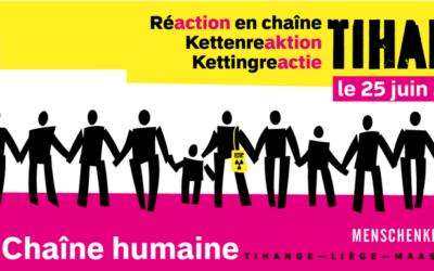 25 juin 2017 – Chaîne humaine contre le nucléaire